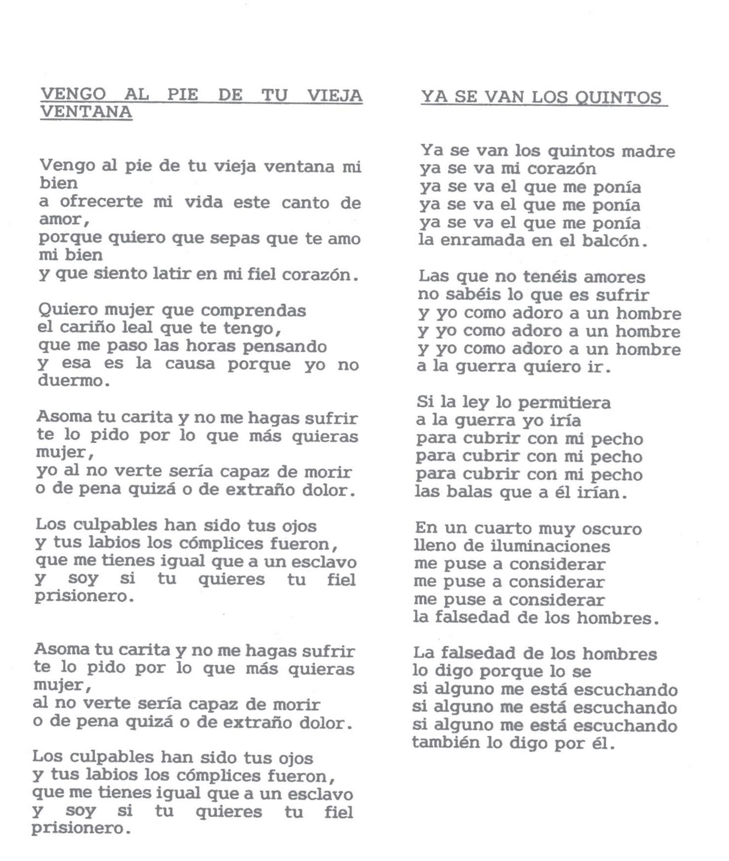 letra de canciones en ingles y traducidas: